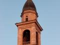 il tramonto_rivignano chiesa