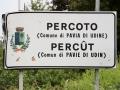 verkeersbord Percoto