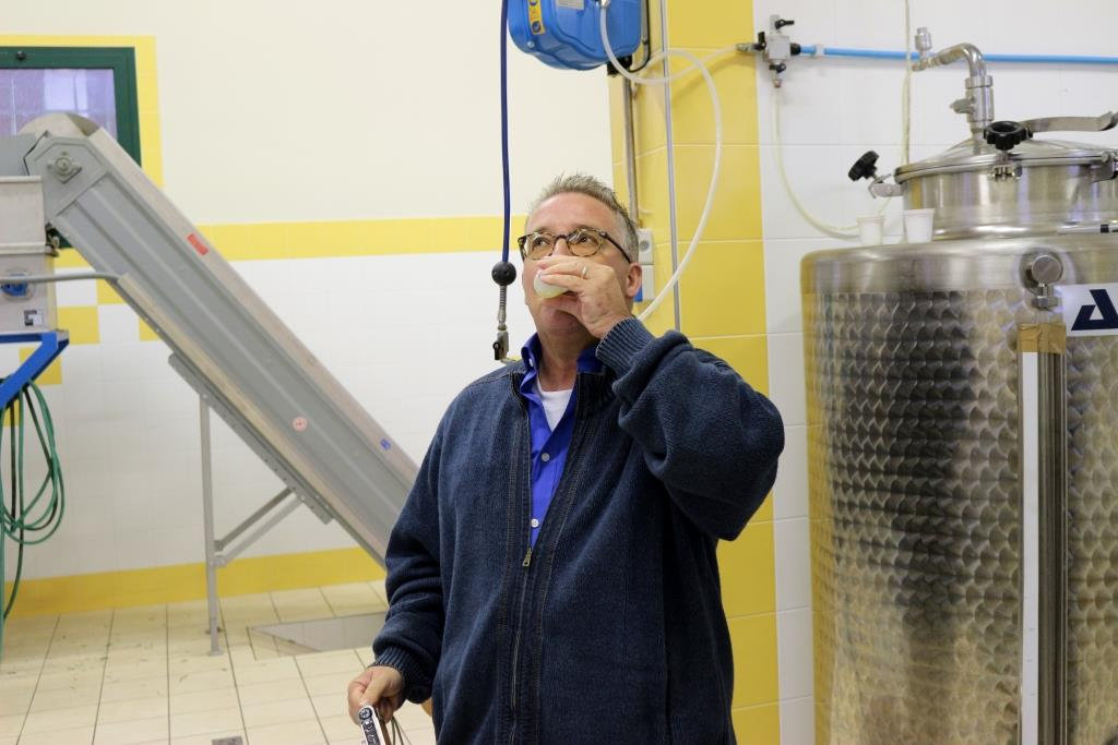sjaak verweij proeft olijfolie il Tramonto