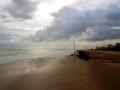 spiaggia lignano il tramonto