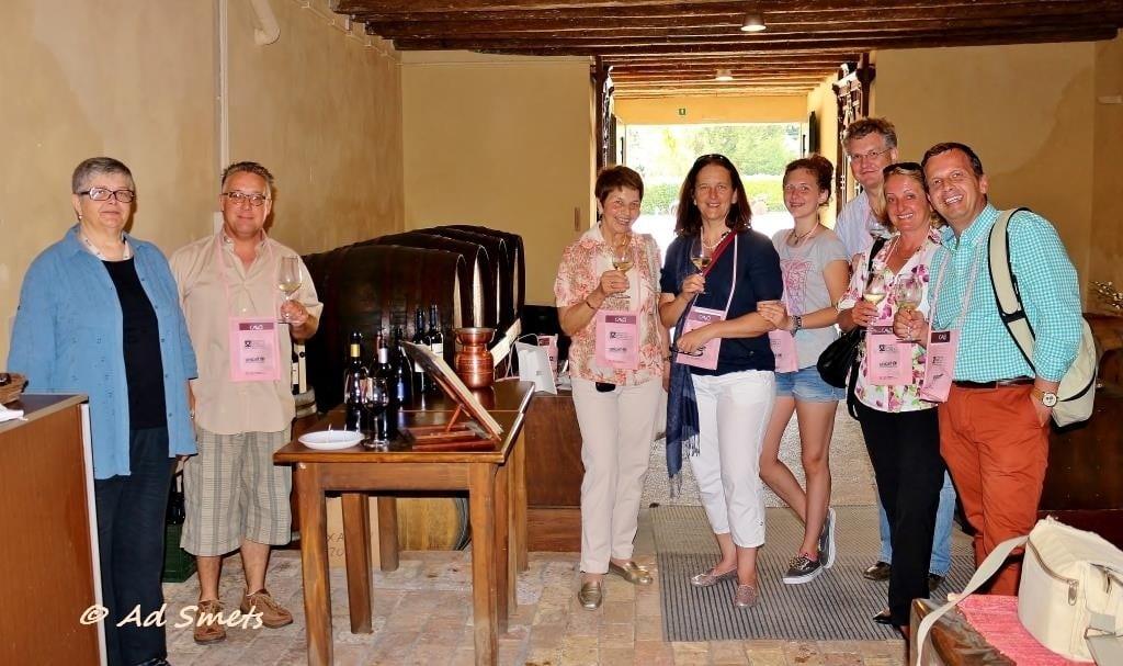 Oostenrijkers uit Graz die ieder jaar met Cantine Aperte een vakantieweek Friulië plannen