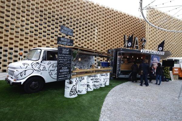 il tramonto_expo 2015_Food truck_worstenbrood