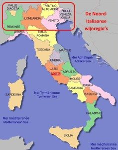 italiaanse wijnregios