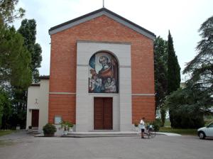 kerk in Bevazzana, begrafenis van Liana