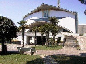 kerk in Lignano-Sabbiadoro - huwelijk Franco Sandron